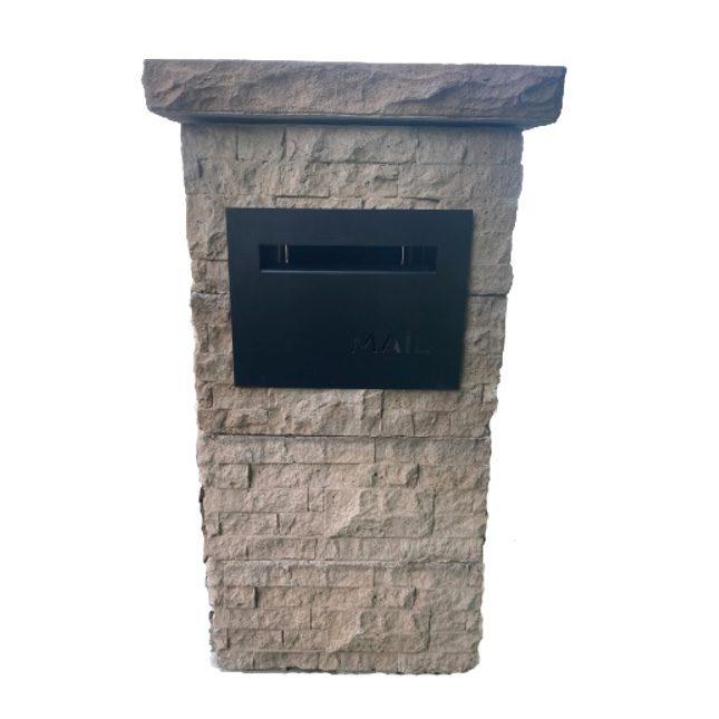 Letterbox Kit Stackerstone Oak